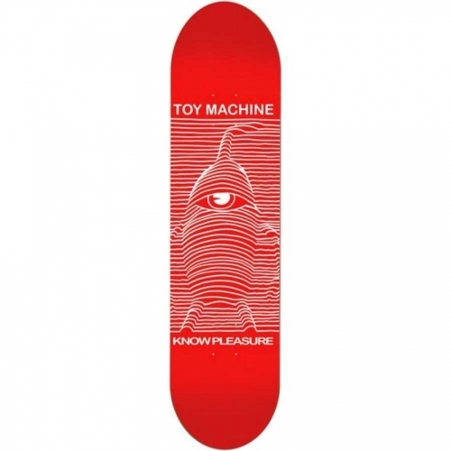 Toy Machine Toy Division Red Deck 8.25x31.75