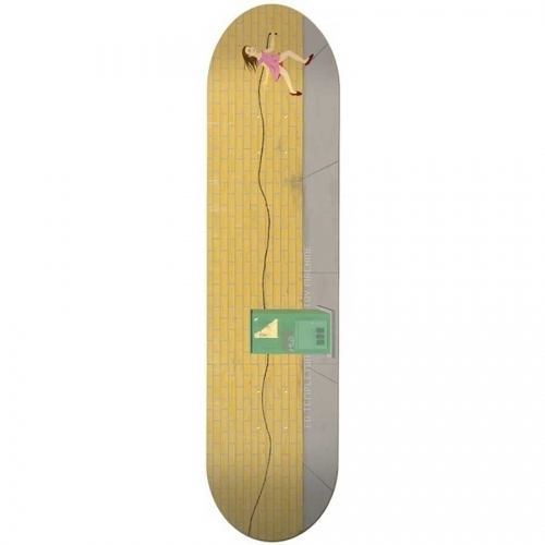 Toy Machine Ed Templeton Art Deck  8.5x32.25
