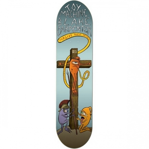 Toy Machine Blake Carpenter Forgive Them Deck  8.25x32
