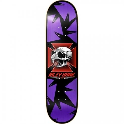 Baker Riley Hawk Tribute Deck purple 8.25