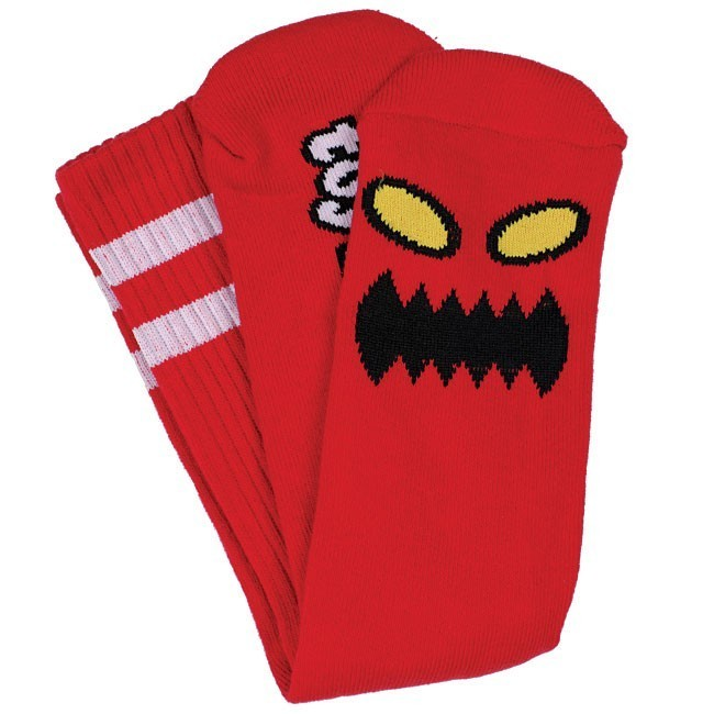 Toy Machine Monster Sock Red