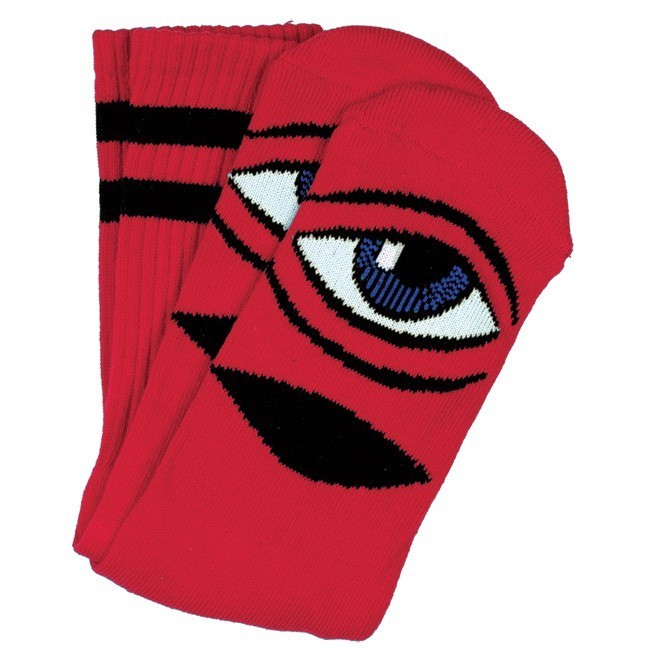Toy Machine Sect Eye Sock Red