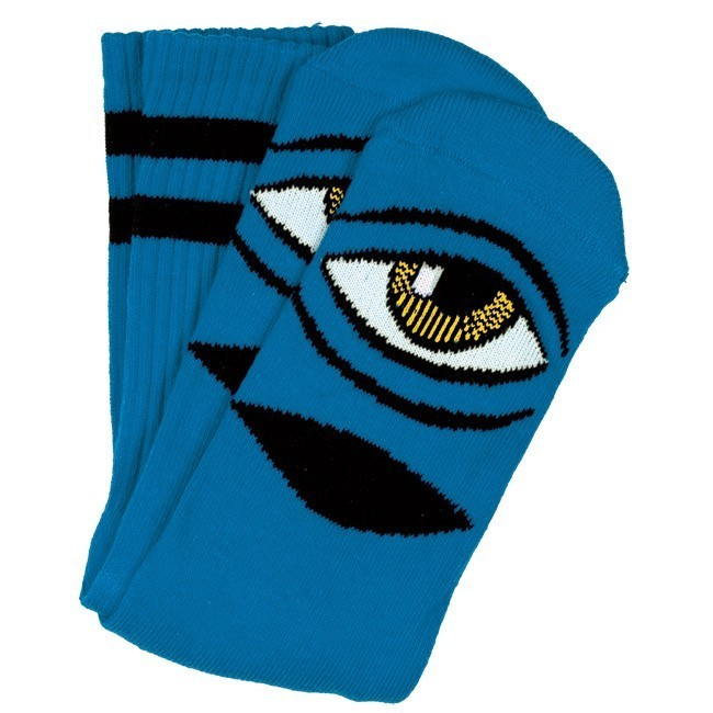 Toy Machine Sect Eye Socks Aqua