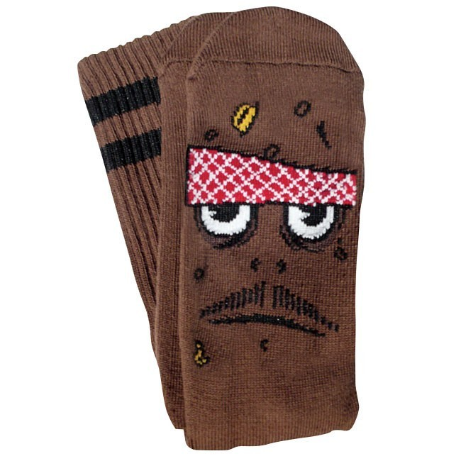 Toy Machine PooPoo Head Socks