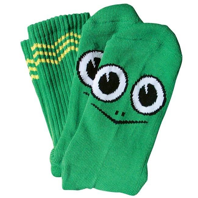 Toy Machine Turtle Boy Socks Green