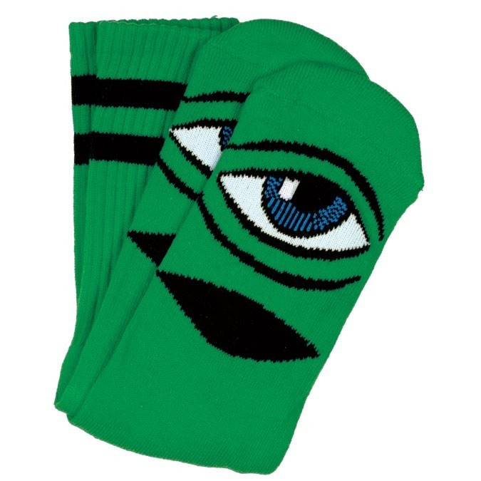 Toy Machine Sect Eye Socks Kelly Green