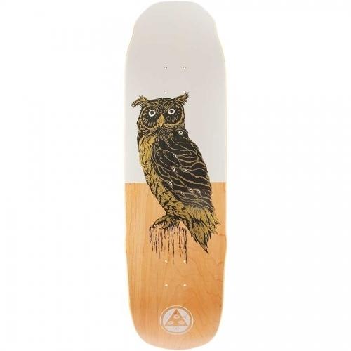 Welcome Black Beak on SledgeHammer Deck  White/Natural 9x32.4