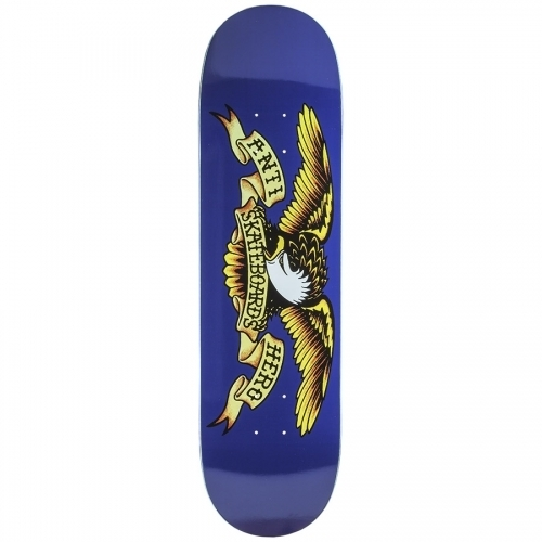 Anti-Hero Classic Eagle XL Deck  Navy Blue 8.5x31.85
