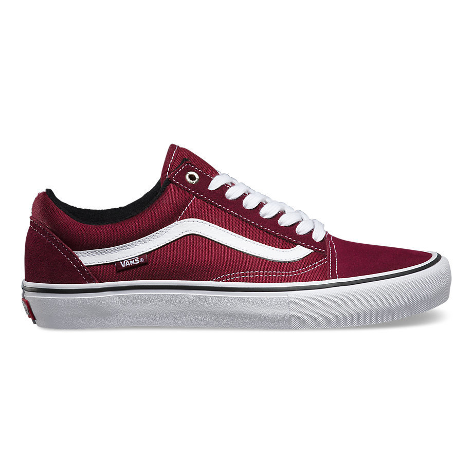 Vans Old Skool Pro Shoe Port/White
