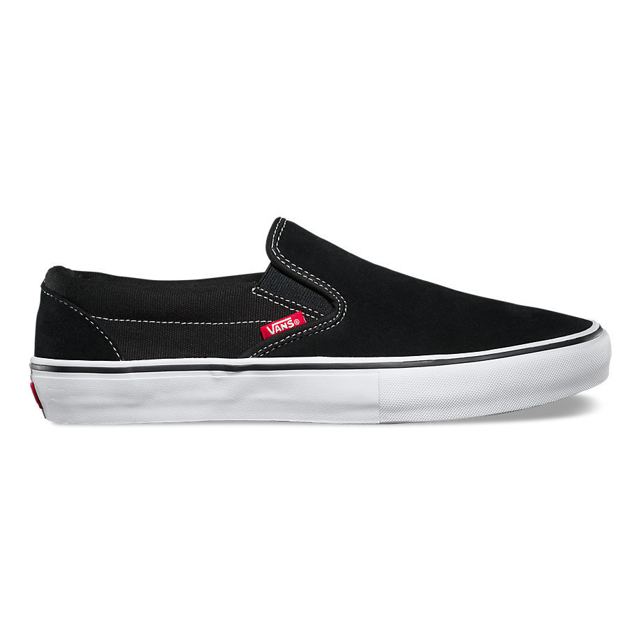 Vans Slip On Pro Shoe Black/White/Gum