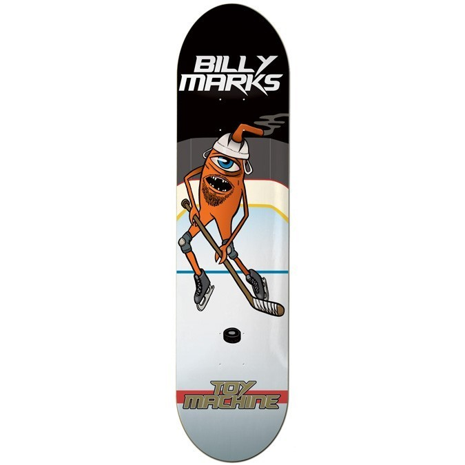 "Toy Machine Billy Marks Hockey 8"" Deck"