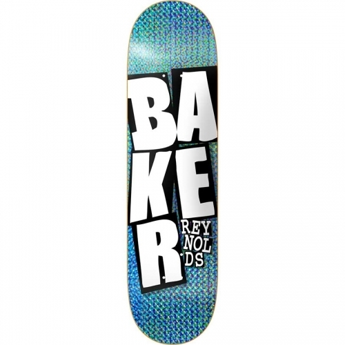 Baker Andrew Reynolds Stacked Holo Blue Deck  8.5x32