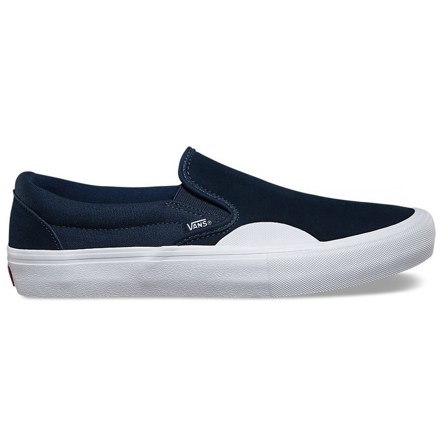 Vans Slip On Pro (Rubber) Shoe Dress Blues/White