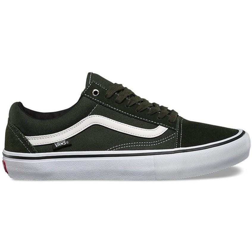 Vans Old Skool Pro Shoe Roslin/White