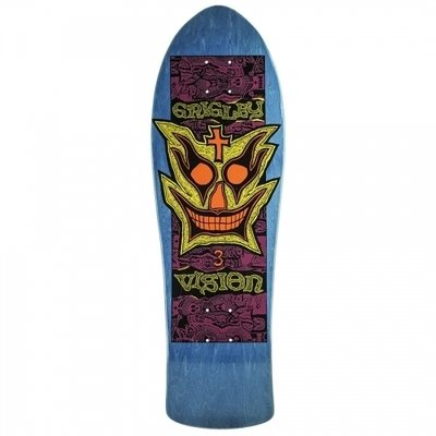 Vision Old School Grigley III Re-Issue Deck Blue 9.75x31