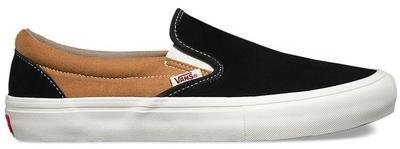 Vans Slip On Pro Shoe Black/Bronze