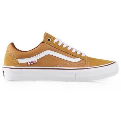Vans Old Skool Pro Shoe Amber/White