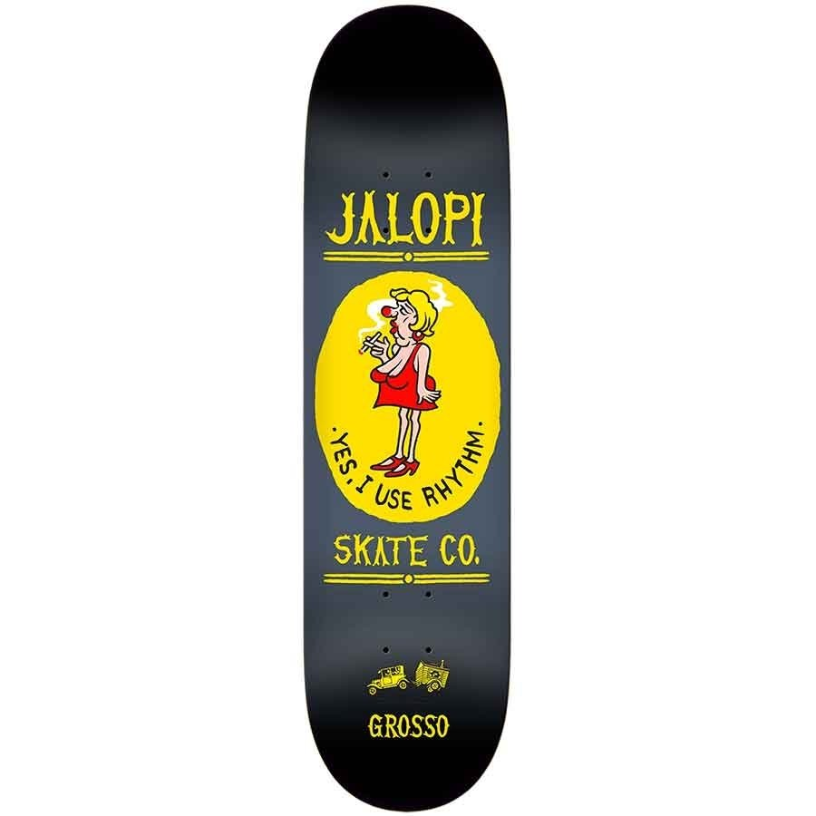 b4f8d3de54 SIGNED   Anti Hero Jalopi Skate Co Jeff Grosso Deck