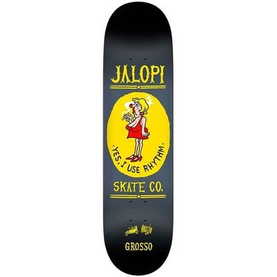 SIGNED** Anti Hero Jalopi Skate Co Jeff Grosso Deck