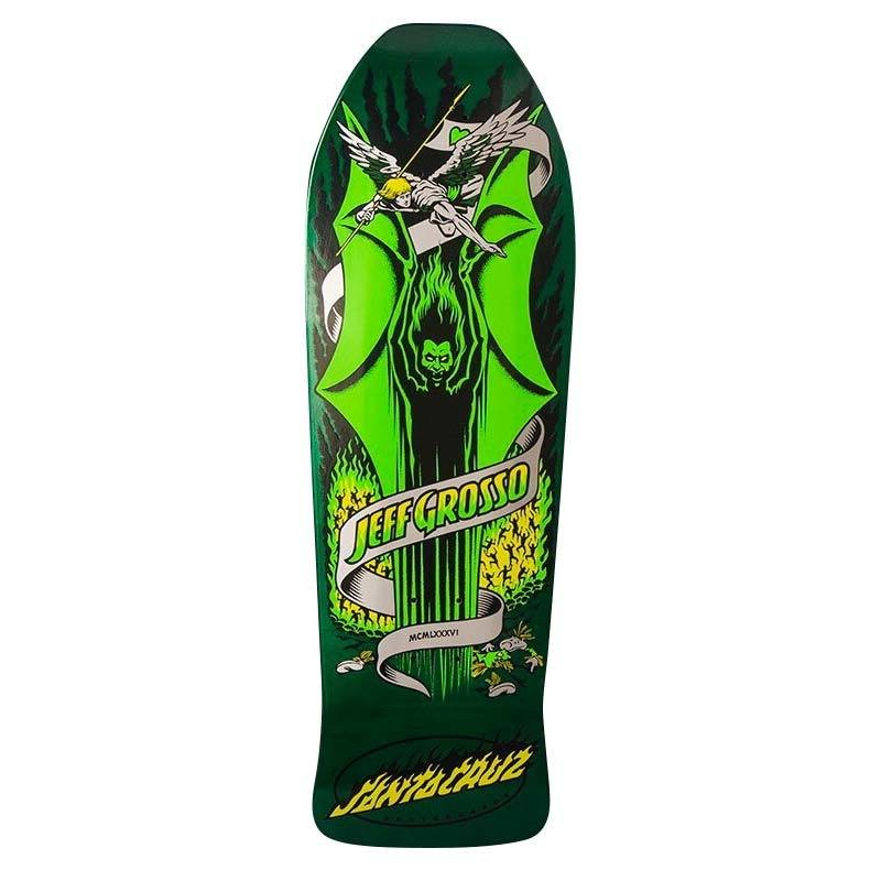 SIGNED** Santa Cruz Jeff Grosso Demon Re-Issue Deck  9.98x30.07
