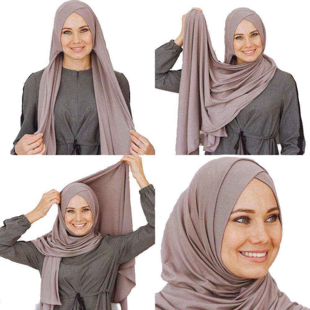 Умный хиджаб визон