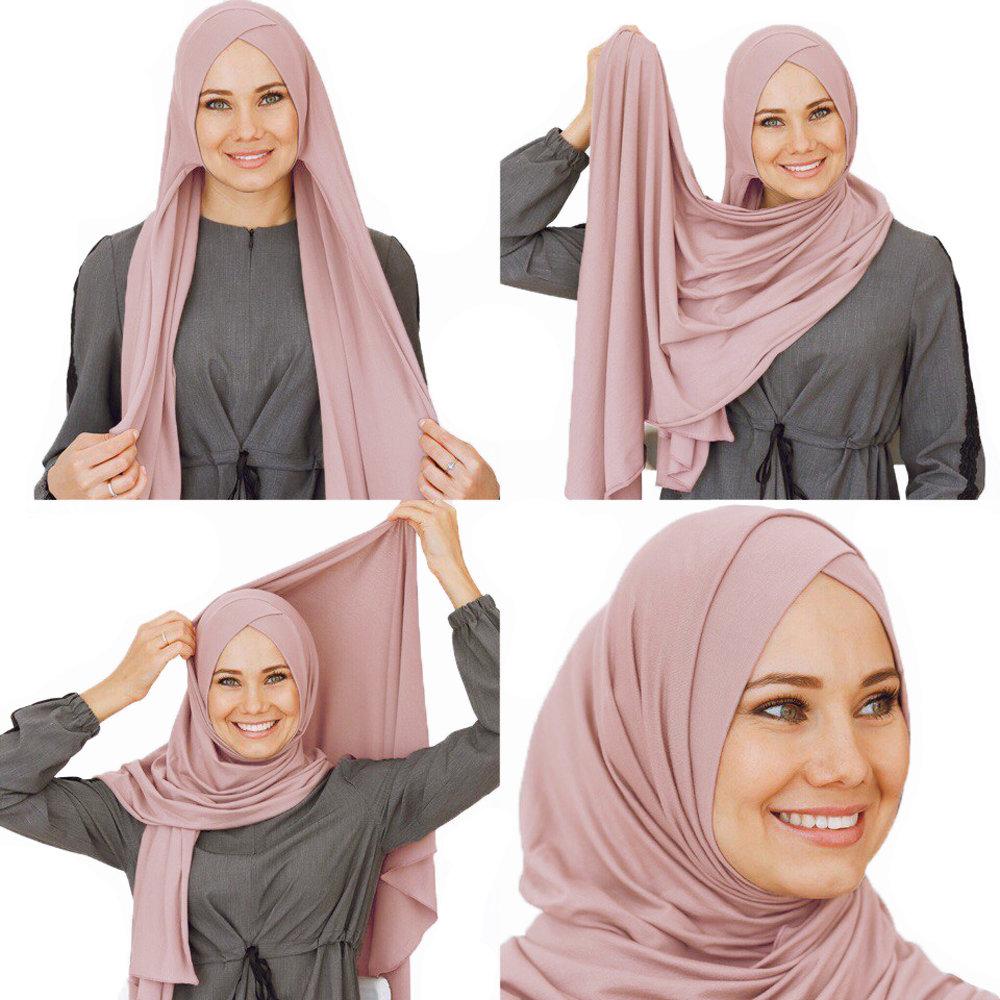 Умный хиджаб пудра