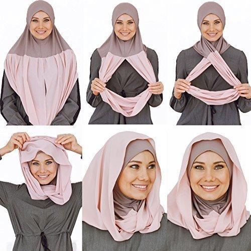 Быстрый хиджаб пудра