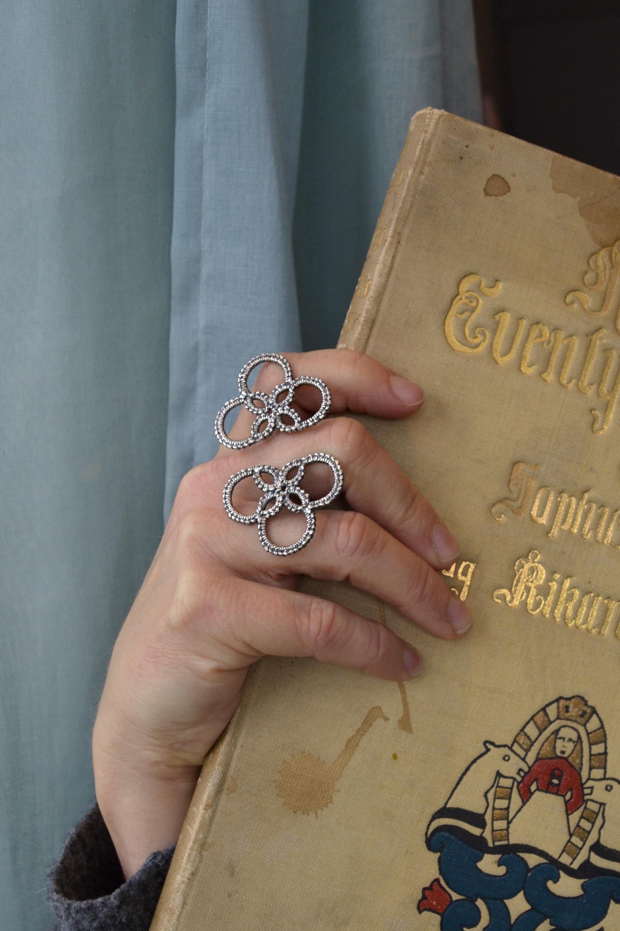 NYHET! NUPERELL - Stor ring - 925 sølv