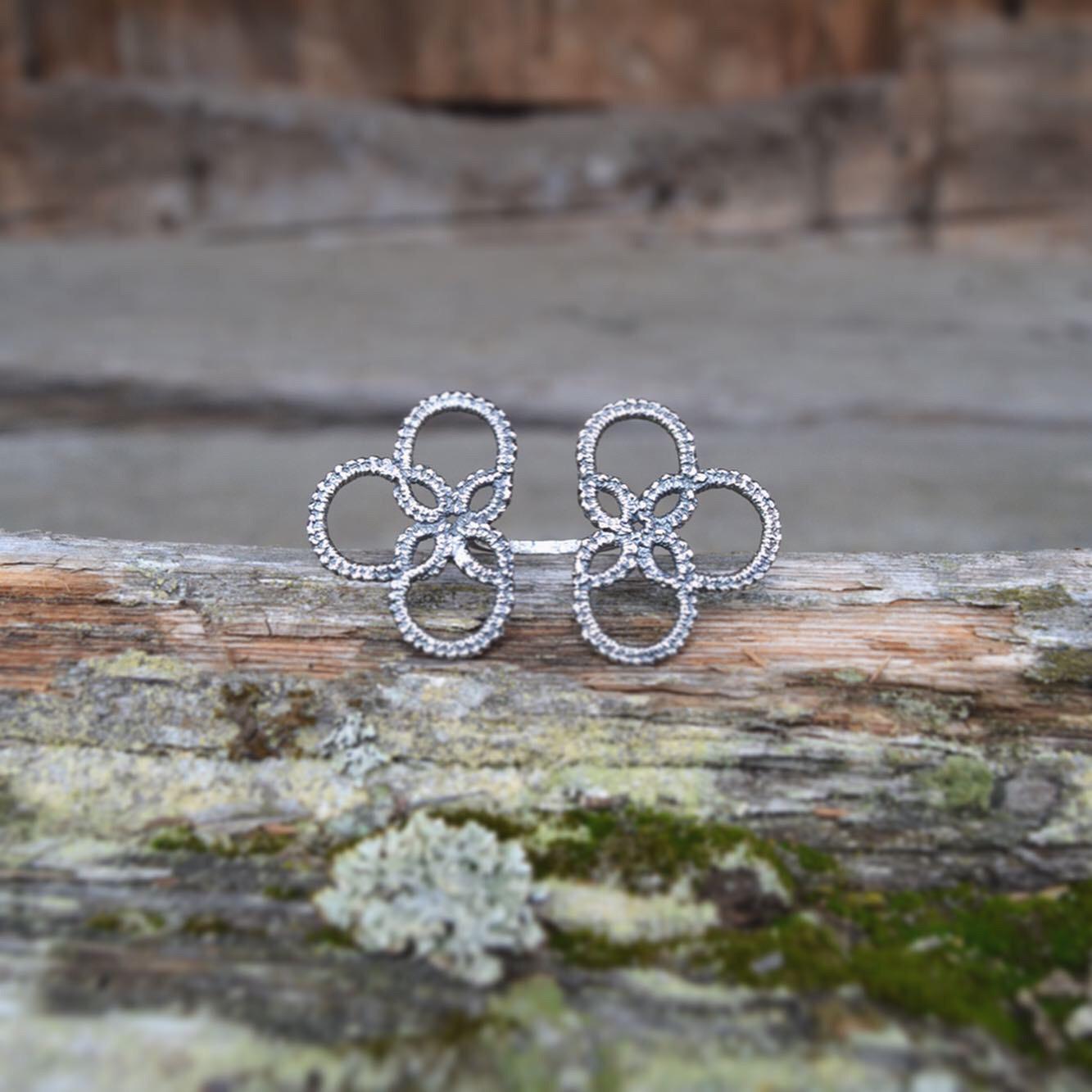 NYHET! NUPERELL - Stor ring - 925 sølv 00015