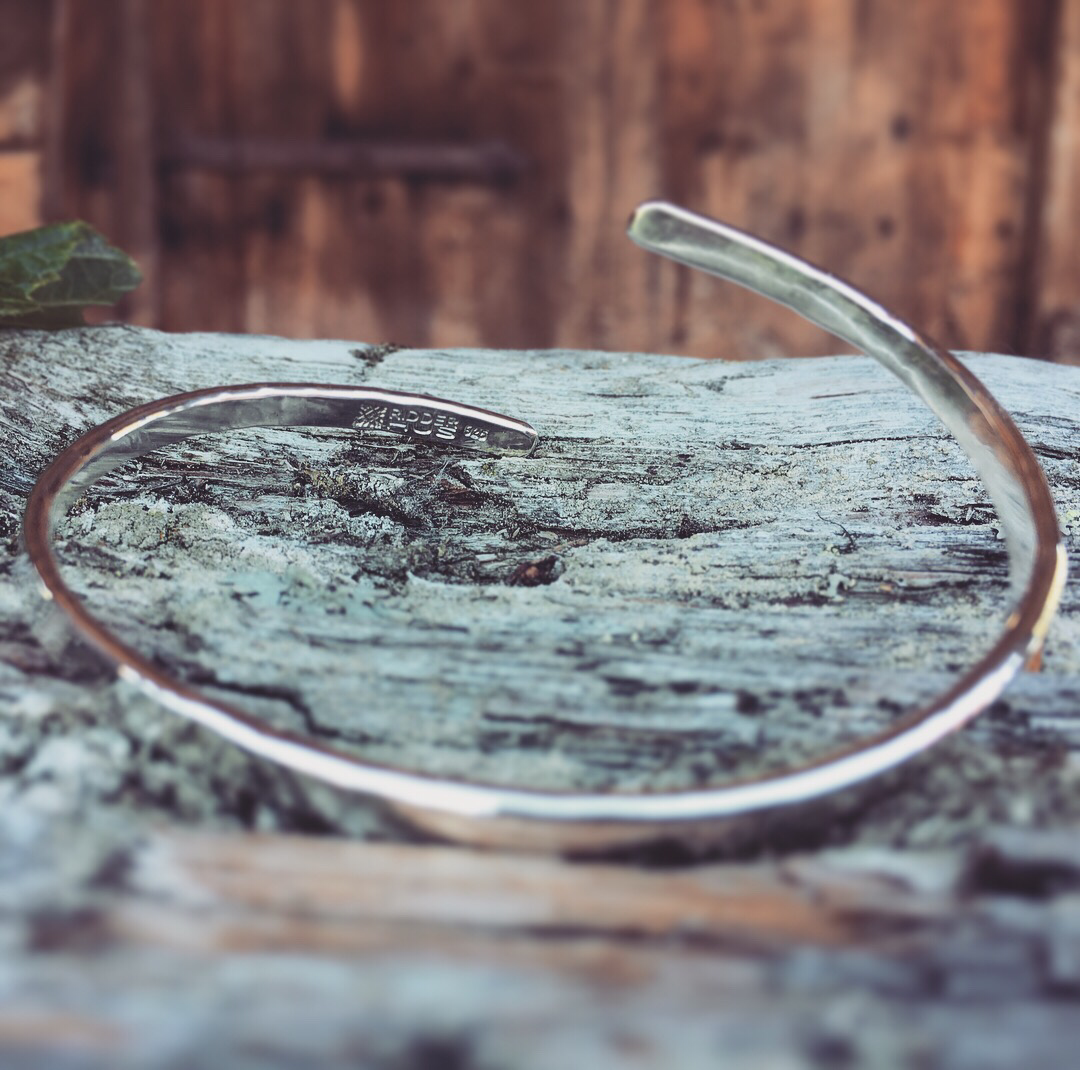 NYHET! HEIM - Smidd armring - 925 sølv