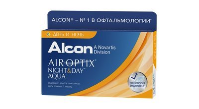 ALCON AIR OPTIX Aqua Night & Day