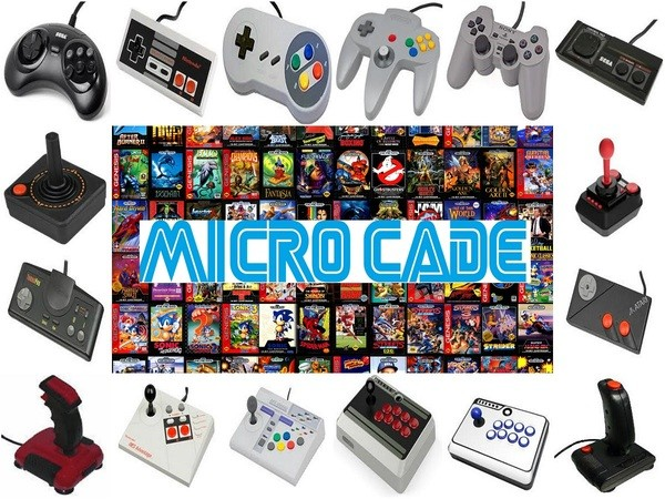 a1aea8bd0 Micro Cade over 35,000 Retro Games. Over 17 Systems in one. All of your  favourite Retro Games for the 80's and 90's in the one box.