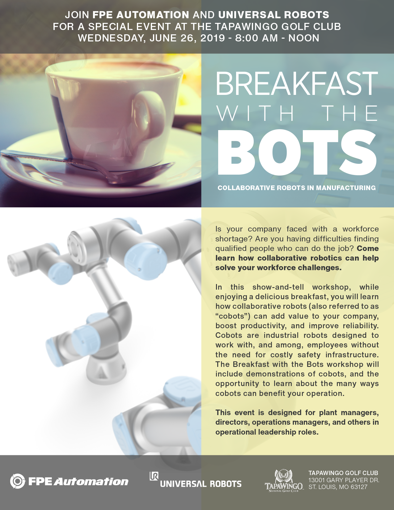 Breakfast with the Bots URB010626