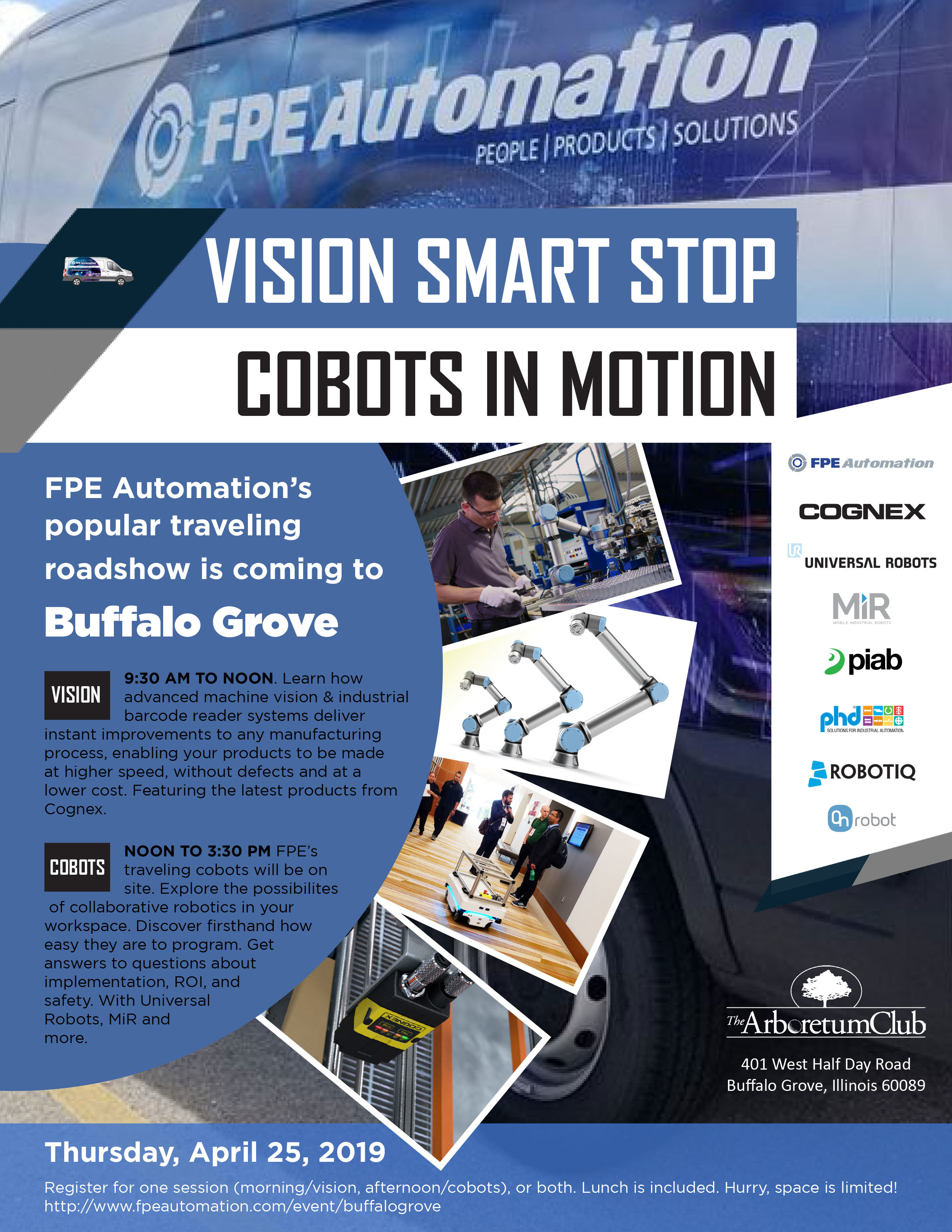 Vision Smart Stop + Cobots In Motion Buffalo Grove VSSCIM003