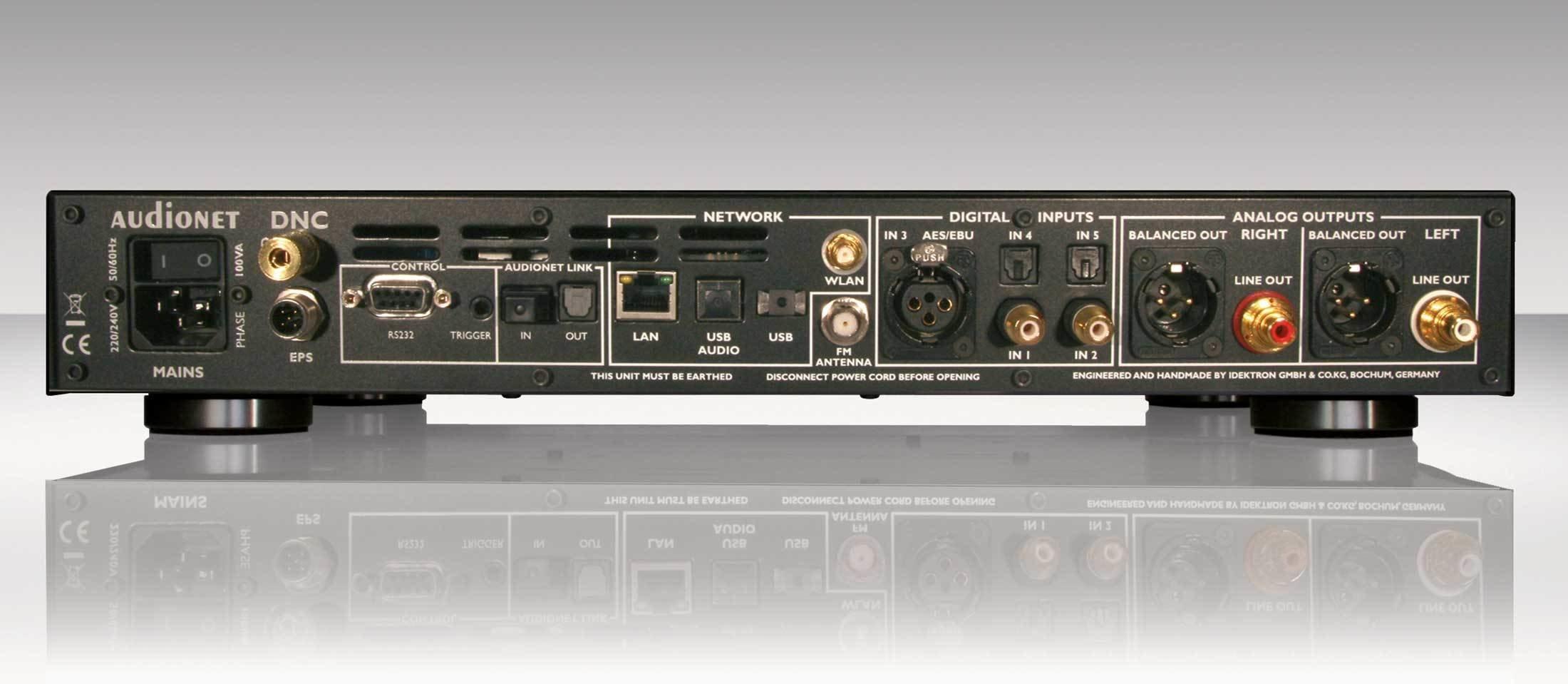 AudioNet DNC