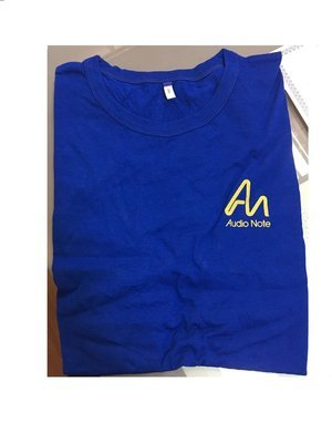 Майка Audio Note T-Shirt, синяя, размер XL
