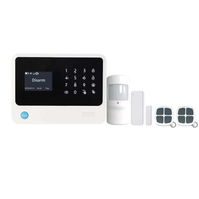 WiFi 3G GSM Alarm System kit with Smart Home functions and app