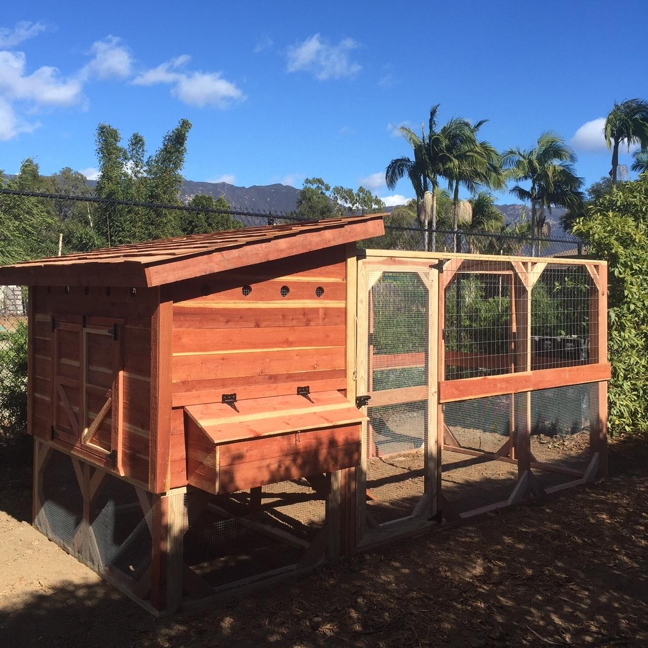 Weathertop Chicken Coop (Large - 4ft x 6ft)