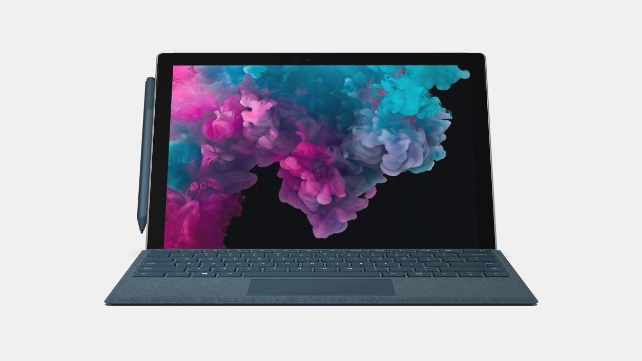 Surface Pro 6 entreprise - 256 Go / Intel Core i5 / 8 Go de RAM (platine) CLAVIER NON INCLU