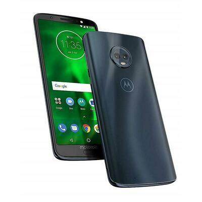 Téléphone intélligent moto G6 PLAY XT1922-9 32G bleu de Motorola