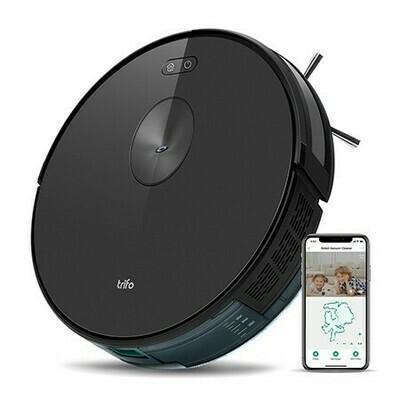 Robot Aspirateur et vadrouille  Ironpie m6+ navigation visuelle intelligente/connectivité WiFi/surveillance à distance - Noir de Trifo