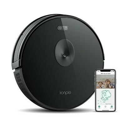 Aspirateur robot  Ironpie m6 navigation visuelle intelligente/ connectivité WiFi/surveillance à distance - Noir de Trifo
