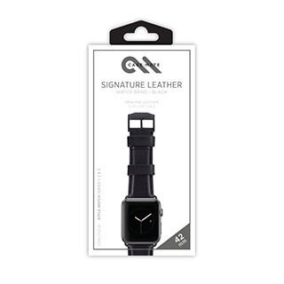 Bracelet en cuir exclusif pour montre Apple Watch de 42 mm, brun de Case-Mate
