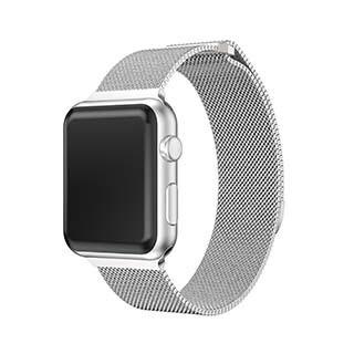 Bracelet Spectra de 44/42 mm pour montre Apple, argent de Uunique