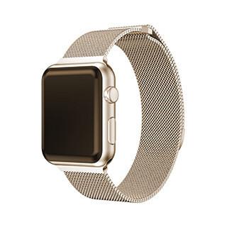 Bracelet Spectra de 44/42 mm pour montre Apple, rose doré de Uunique