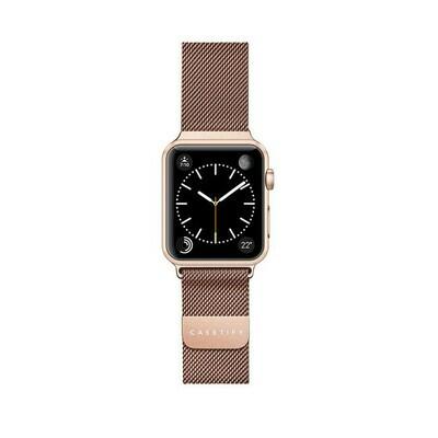 Bracelet Apple Watch en Acier Inoxydable 44/42mm Al D'or de Casetify