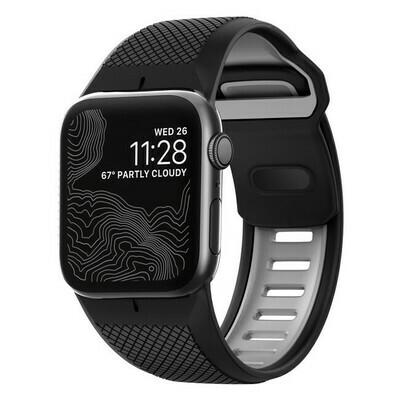 Bracelet Robuste Noir pour Apple Watch 42mm de Nomad