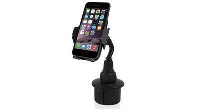 Support de gobelet automobile réglable pour smartphones et la plupart des GPS (MCUP) de Macally