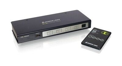 4K UHD 4-Port HDMI Switch with RS-232 Support de Iogear