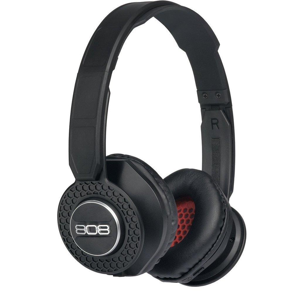 Écouteurs Bluetooth® SHOX de 808 Audio Noir